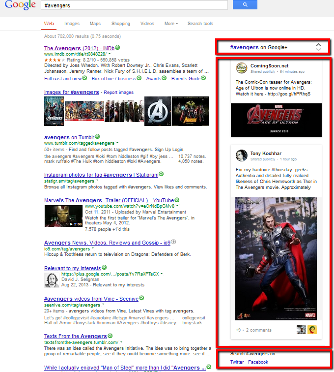 google-hashtag-search-results