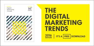 2016 Digital Marketing Trends ebook