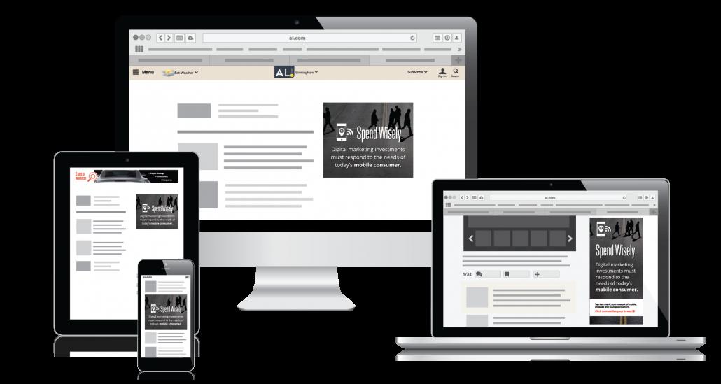 Al Com Mobile >> Digital Display Alabama Media Group